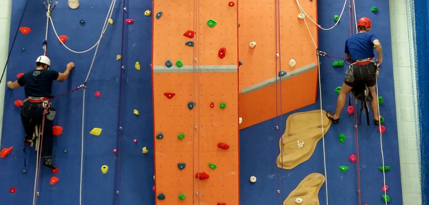 Climbing Wall Route Setting